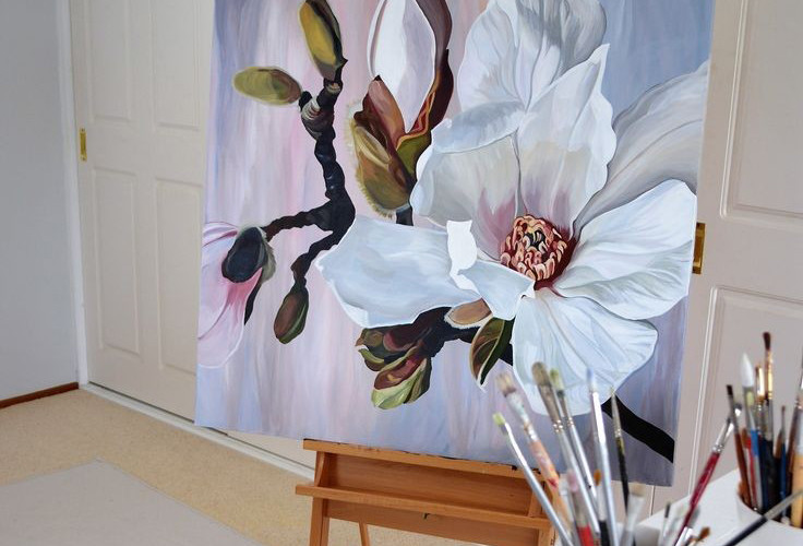 интерьерная картинка Цветы 2